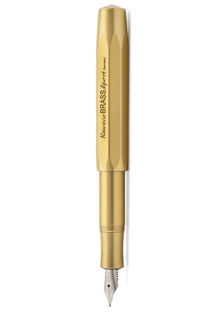 Brass Kaweco Brass Sport Fountain Pen...
