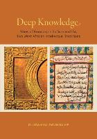 Deep Knowledge: Ways of Knowing in...