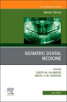 Geriatric Dental Medicine, An Issue ...