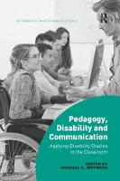 Pedagogy, Disability and...