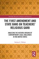 The First Amendment and State Bans on...