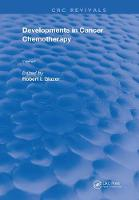 Developments In Cancer Chemotherapy:...