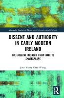 Dissent and Authority in Early Modern...