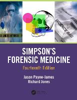 Simpson's Forensic Medicine, 14th...