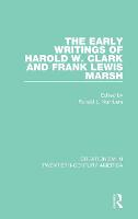 The Early Writings of Harold W. Clark...
