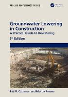 Groundwater Lowering in Construction:...
