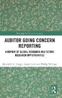 Auditor Going Concern Reporting: A...