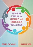 Responsive Schooling for Culturally...