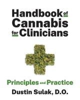 Handbook of Cannabis for Clinicians:...