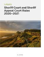 GREENS SHERIFF COURT RULES 2020-2021