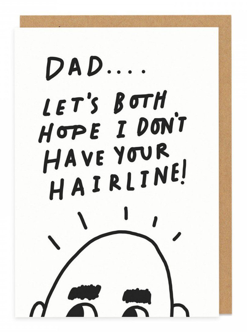 Hairline Greeting Card