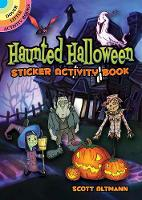 Haunted Halloween Sticker Activity Book