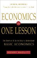 Economics In One Lesson: The Shortest...
