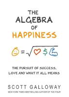 The Algebra of Happiness: The pursuit...