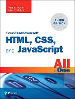 HTML, CSS, and JavaScript All in One:...
