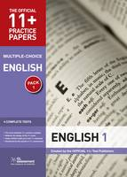11+ Practice Papers, English Pack 1,...