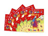 Christmas Story Sticker Book: Pack of 5