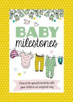 Baby Milestone Cards: Record the...