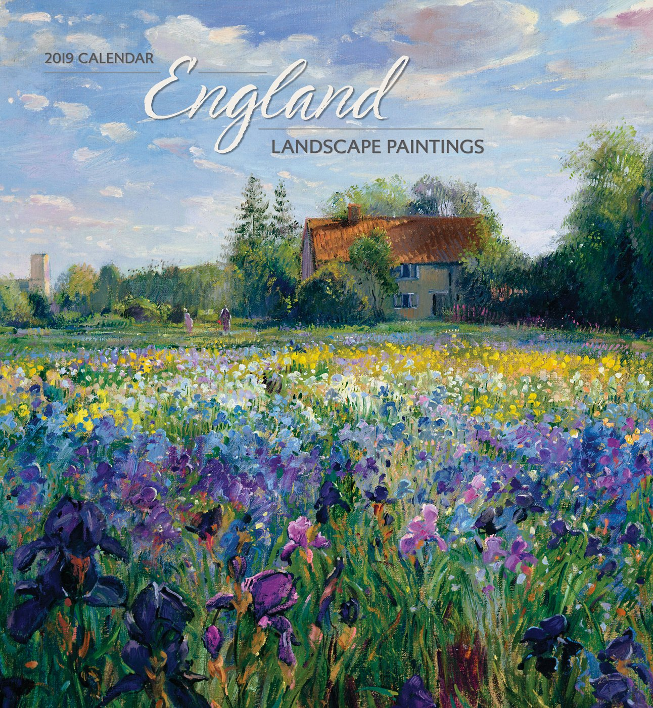England Landscape Paintings 2019 Wall...