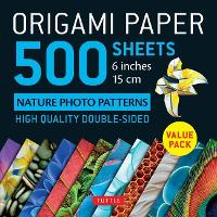 Origami Paper 500 sheets Nature Photo...