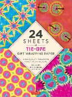 Tie-Dye Gift Wrapping Papers: 12...