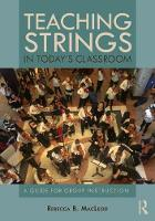 Teaching Strings in Today's ...