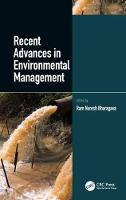 Recent Advances in Environmental...