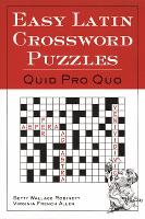 Easy Latin crossword puzzles