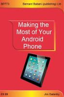 Making the Most of Your Android Phone