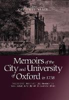 Memoirs of the City and University of...