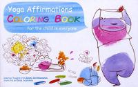 Yoga Affirmations Coloring Book: For...