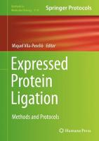 Expressed Protein Ligation: Methods...