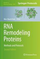 RNA Remodeling Proteins: Methods and...