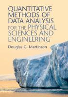 Quantitative Methods of Data Analysis...