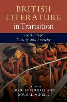 British Literature in Transition:...
