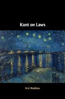 Kant on Laws