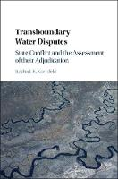 Transboundary Water Disputes: State...
