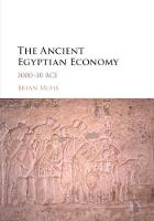 The Ancient Egyptian Economy: 3000-30...