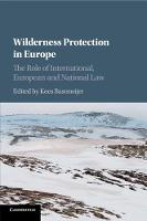Wilderness Protection in Europe: The...