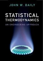 Statistical Thermodynamics: An...