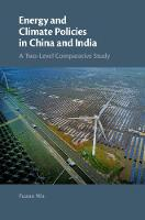 Energy and Climate Policies in China...