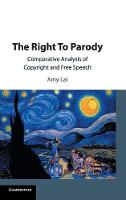The Right To Parody: Comparative...