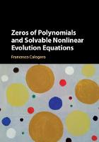 Zeros of Polynomials and Solvable...