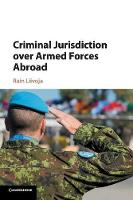 Criminal Jurisdiction over Armed...
