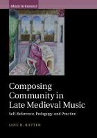 Music in Context: Composing Community...