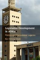 Legislative Development in Africa:...