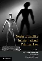 Modes of Liability in International...