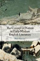 The Concept of Nature in Early Modern...