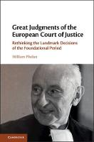 Great Judgments of the European Court...