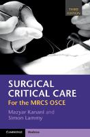 Surgical Critical Care: For the MRCS...